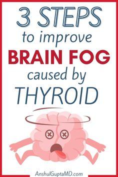 Thyroid Symptoms, Hypothyroidism Diet, Thyroid Cancer, Thyroid Disease, Thyroid Health, Brain Fog Causes, Health And Nutrition, Health Tips, Step Program
