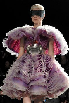 Fall 2012 Trend: I Heard It Through the Grapevine: Alexander McQueen RTW Fall 2012