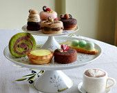 Needle felted dessert- Tart & cake each sold individually