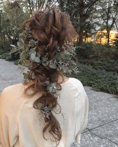Braided Hairstyles, Wedding Hairstyles, Cool Hairstyles, Wedding Hair Flowers, Flowers In Hair, Hair Ornaments, Headdress, Flower Crown, Grapevine Wreath