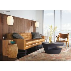 Wells Leather Sofas - Modern Sofas - Modern Living Room Furniture - Room & Board