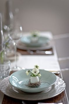 Easter Table Setting by reyna