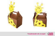 Caixinha girafa