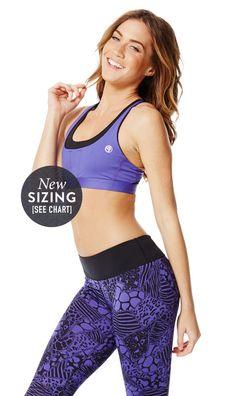 Bringin' Sexy Cross-Back Bra | Zumba Fitness Shop