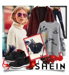"""SHEIN 9/10"" by betty-boop23 ❤ liked on Polyvore featuring Rampage, Improvements, Sheinside and shein"