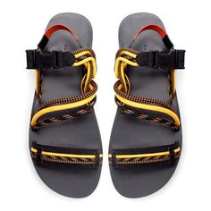 Image 2 of FLAT SANDALS WITH COMBINATION STRAPS from Zara