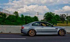 BMW E46 M3 grey on bronze rims