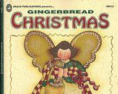 Gingerbread Christmas Decorative Painting Pattern, Snowmen, Cookies