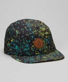 4263afefe1795 Love this Volcom Black  amp  Yellow Killing It Five-Panel Hat by Volcom on