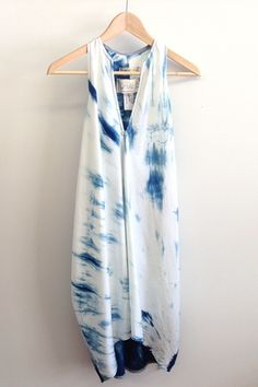 Cinched Journey Dress | Jill Aiko Yee #madebywomen #womancan #loveindependents… Prom Dress Shopping, Online Dress Shopping, Day Dresses, Prom Dresses, Indigo Dress, Tie Dye Techniques, Shibori Tie Dye, All Jeans, Comfortable Outfits