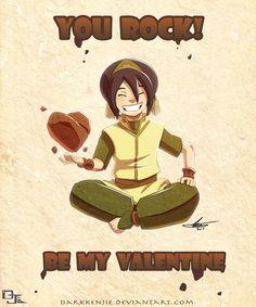 avatar the last airbender valentines | Toph, Valentines, Avatar, the, Last, Airbender, ATLA