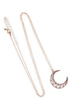 Primark - Colar com joia em forma de lua