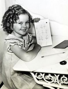 Shirley Temple- oh so sweet!