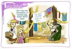 Pocket Princesses #50: Do Laundry