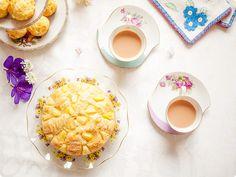 1970s tropical pineapple teacake recipe