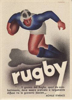 Rugby : a (small) tribute to the pioneers - Rugby History - Rugby Memorabilia Rugby Pictures, Hot Rugby Players, Rugby Sport, Army Patches, Rugby World Cup, Sports Art, Vintage Advertisements, Vintage Men, College Posters
