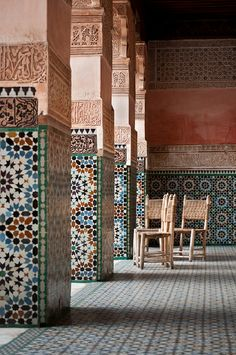 The Beautifully Complex Art of Moroccan Mosaics