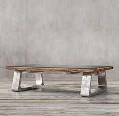 Railroad Trestle Coffee Table