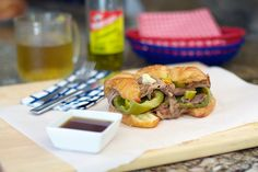 Take a look at our delicious Portillo's Style Italian Beef and Cheddar Croissants recipe with easy to follow step-by-step pictures.
