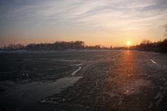 Zimska idila zaleđenog Glavnog jezera.