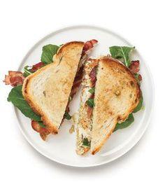 Bass, Bacon, and Arugula Sandwich recipe