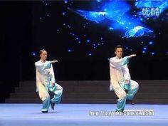 2014年全国武术套路锦标赛太极拳赛 混合双人自选太极拳 005 黄志坤 刘芳芳(福建)第一名