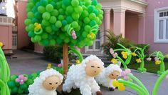 Esculturas em balões: olha que coisa mais impressionante!