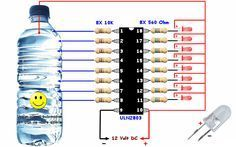 Awesome water Level Indicator with ULN 2803 | Electrical Engineering Books