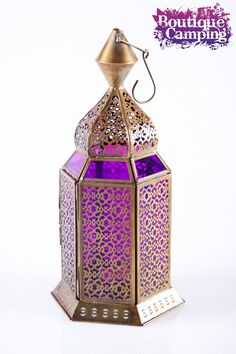 Purple lantern - Gives the Arabic look. Possibly cute for the welcome table, sweetheart table etc.