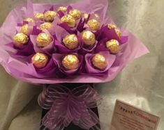 Ferrero Rocher Chocolate Bouquet-Hamper perfect by PlushyOccasions
