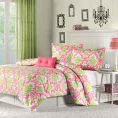 Mizone Monica Damask Comforter Set  found at @JCPenney
