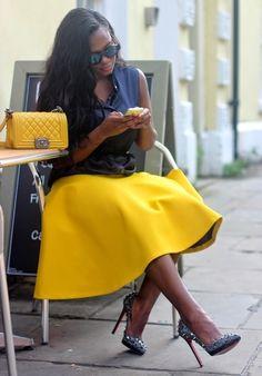 Chanel Fashionista @luvrumcake