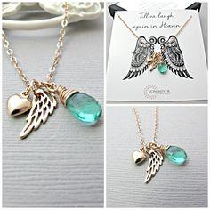 Sympathy Gift Memorial Gift Memorial Jewelry by vonmeyerjewelry