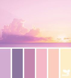 New Nature Inspired Color Palette Design Seeds Ideas Scheme Color, Color Schemes Colour Palettes, Pastel Colour Palette, Colour Pallette, Pastel Colors, Color Combos, Summer Colour Palette, Paint Colors, Purple Color Schemes