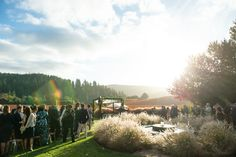 Fall weddings in wine country are spectacular! Here's a little sneak-peek of Leah and David's Goldeneye Winery wedding!