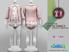 Sims 4 Toddler Clothes, Sims 4 Cc Kids Clothing, Sims 4 Mods Clothes, Toddler Outfits, Kids Outfits, The Sims 4 Pc, Sims Four, Sims Cc, Mods Sims