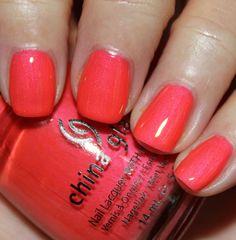 China Glaze Summer Neons '12 - Flirty Tankini