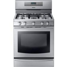 this one looks coolyou can use one or both parts of the oven or both at once also i recommend looking into dual fuel ranges i know you said yu2026