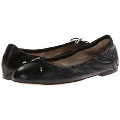 002fe15b4b73 Sam Edelman Felicia (Black Leather) Women s Flat Shoes ( 100) ❤ liked on