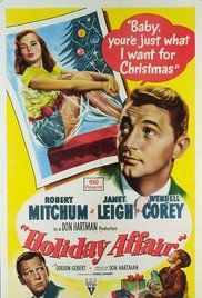Holiday Affair Poster