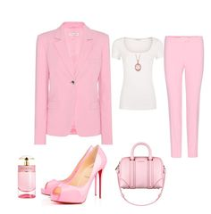 """""""Pink and my love"""" by Diva of Cake on Polyvore featuring Altuzarra, Privé, Givenchy, Allurez and Prada"""