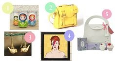 Lauren's trendy and quirky set of gift ideas