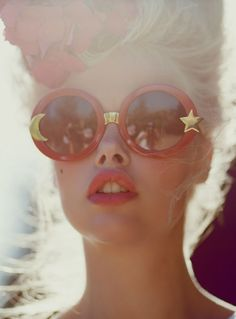 round sunglasses #fashion #pixiemarket