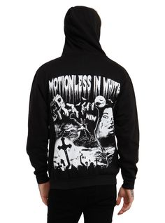 Motionless In White Horror Hoodie (Back) | Hot Topic