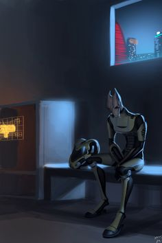 Mass Effect - Salarian.