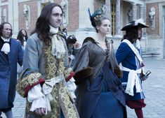 George Blagden as King Louis XIV in Versailles. Promotional Pictures. Versailles La Série (2015) Saison 1