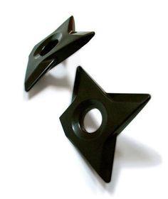 Ninja Shuriken Magnets & Bottle Opener