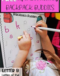 Letter B Activities, Letters For Kids, Letter Of The Week, Super Mom, Alphabet, Backpacks, God, Lettering, Dios