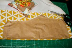 What's Mummy Up To .: When the fabric comes before the project plan - Sweat-pant leggings Tutorial