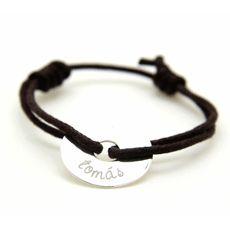 Me encantaria que me regalaran esta pulsera con el nombre de mi peque #diadelamadre#etic-etac